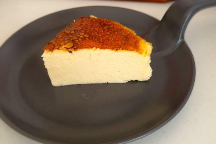 Tarta de queso keto cetogénica