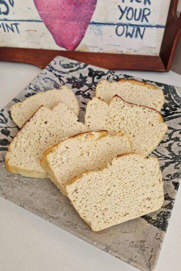 Pan de molde keto